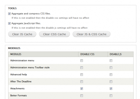 Kill Aggregation Settings Page